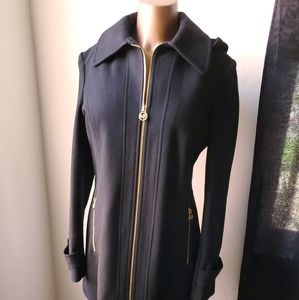 Black Michael Kors Wool Jacket